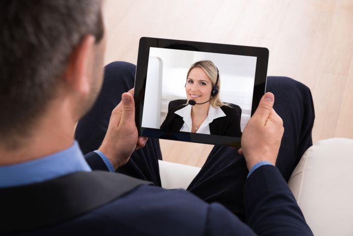 Live chat / video chat